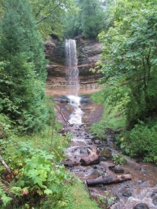 Shari_Knapp_waterfall picture_Munising 1